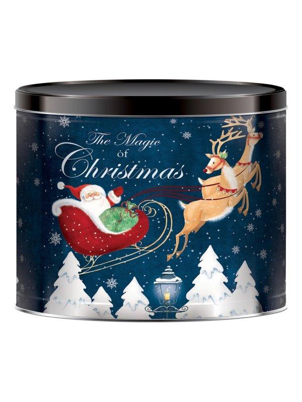 圣诞节爆米花桶 24oz