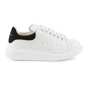 Alexander McQueen码全!加拿大定价$675黑尾小白鞋