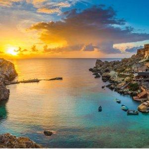 低至26折 感受超迷人的迷你海上岛国风光Malta 马耳他四星级SPA酒店奢华之旅套餐 包往返机票