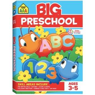 New Markdowns: School Zone - Big Preschool Workbook - Ages 3 to 5