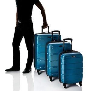 史低价 $277.34起(原价$587.65)Samsonite Omni 硬壳行李箱3件套(20、24、28英寸)