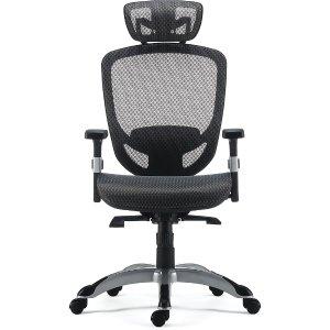 $20 off $100Staples® Hyken Mesh Back Fabric Task Chair, Black (UN59460)