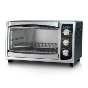 $26.07(原价$41.69)史低价:Black & Decker 6片对流式不锈钢烤箱