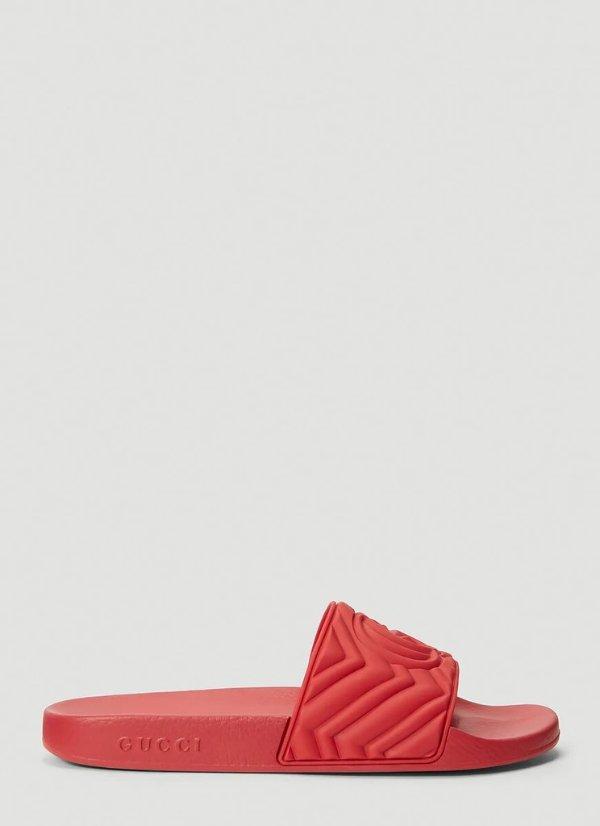 GG Marmont拖鞋
