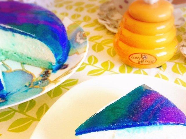 手把手教你做颜值美味兼具的极光蛋糕