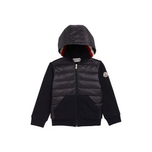 1e8fe25634 Nordstrom offers up to 50% off Kids Designer Sale. Free shipping.  MonclerKnit Sleeve Hooded Down Jacket
