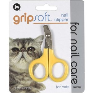 JW Pet Gripsoft Cat Nail Clipper - Chewy.com