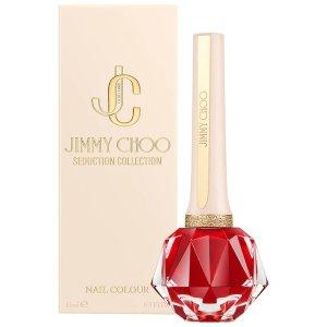 Jimmy Choo大红色指甲油