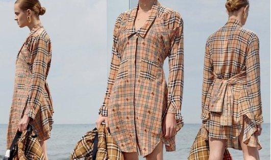 Burberry 必备格纹衬衣、外套系列上新Burberry 必备格纹衬衣、外套系列上新