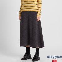 Uniqlo 羊毛裙半身多色选 (INES DE LA FRESSANGE)