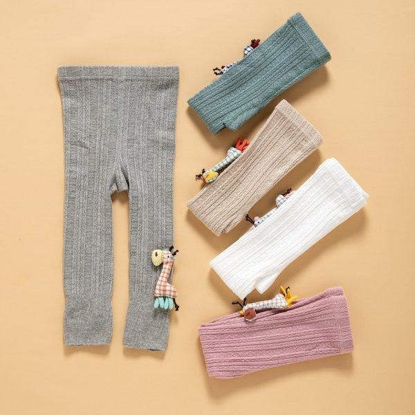 女童打底针织裤