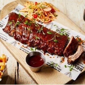低至4.4折 £19.95 双人餐(原价£39.9)Belgo 餐厅 超值双人餐 共享美味时光 限时抢购