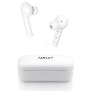 AUKEY True Wireless Earbuds, Bluetooth 5 Headphones in Ear with Charging Case