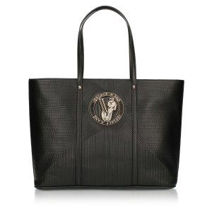 Versace Jeans百搭黑 通勤日常都可托特包