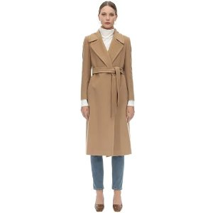 MOLLY BELTED CASHMERE & WOOL COAT