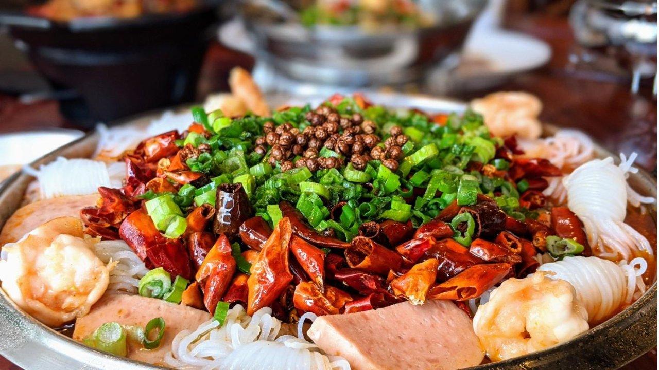 北加湾区餐厅探店| Noodle Talk福牛堂品尝湖南米粉湘菜(嗦粉/多人聚餐都推荐)