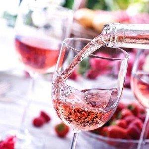 5.7折 €39.99收6支桃红葡萄酒套装热卖 浅粉色的酒液如水晶般清澈