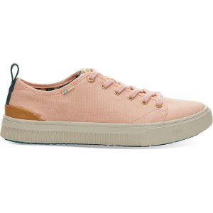 9ec02449a607 TomsCoral Pink Canvas TRVL LITE Low Women s Sneakers