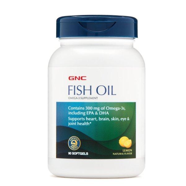 深海鱼油 300mg 柠檬味 90粒