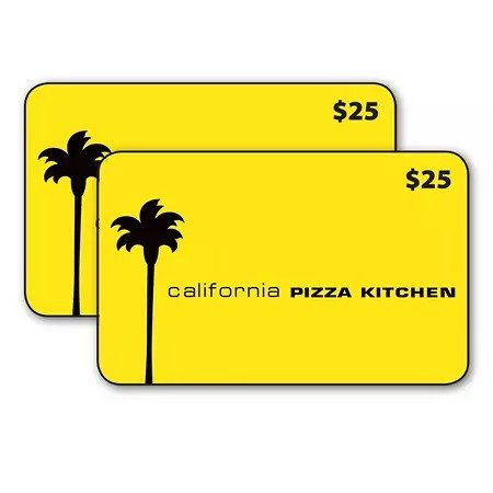 California Pizza Kitchen $50 礼卡