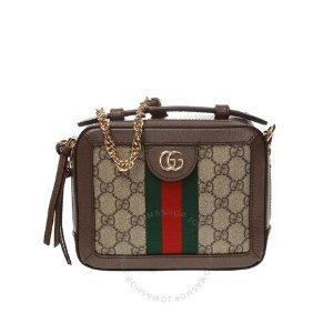 仅$1199(原价$1980)本周特惠:Gucci Ophidia 双G老花包 变相6折