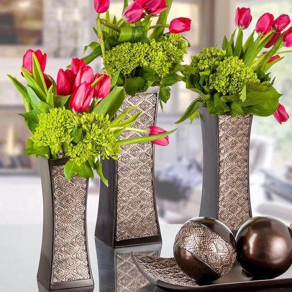 装饰花瓶3件套
