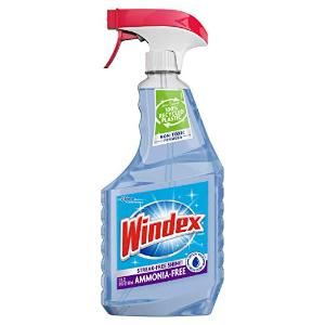 $1.91(原价$3.77)Windex 玻璃清洁剂