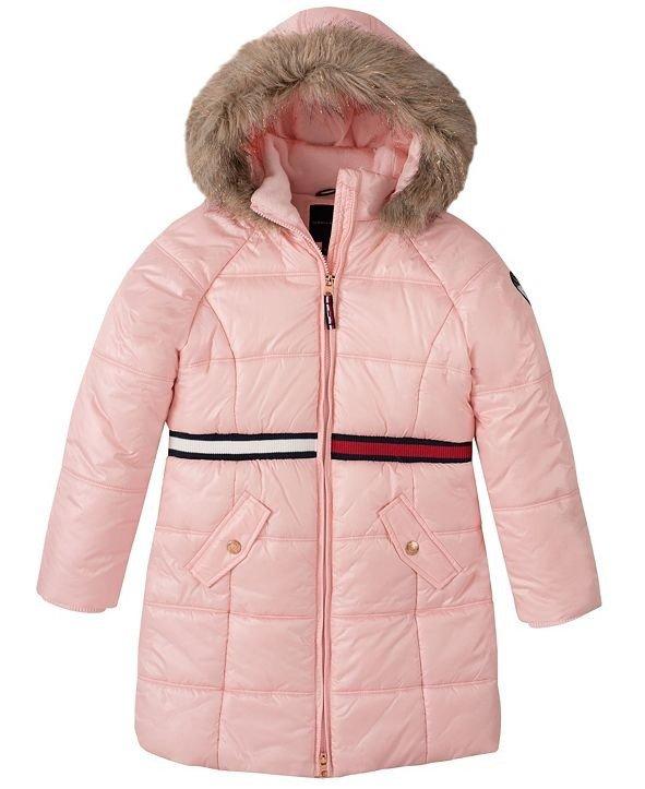 女小童长款保暖外套
