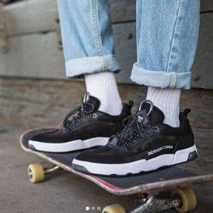 低至5折+最高额外6折DC Shoes 官网 街头潮流鞋履,运动装备特卖
