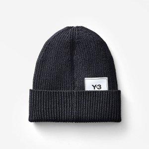 $30+包邮 针织帽$90上新:adidas官网 Y-3 高端运动潮牌服饰、配饰等