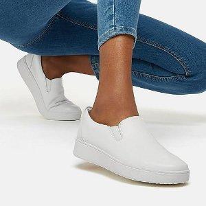 FitFlop满£150减£30一脚蹬小白鞋