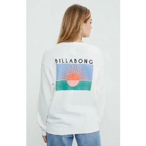 Billabong印花卫衣