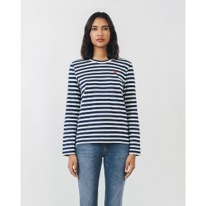 Comme des Garcons PlayPlay Striped Long Sleeve Tee