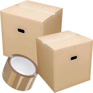 7.5折起 纸箱低至£1/个Amazon 打包好物 纸箱、收纳袋 搬家、整理回国行李好帮手