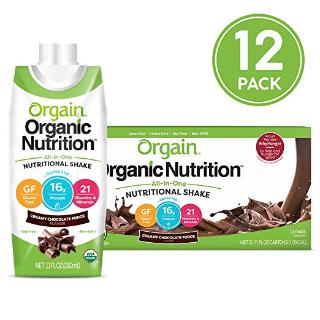 $15.85Orgain Organic Nutritional Shake, Creamy Chocolate Fudge 16g 11 Ounce, 12 Count
