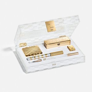 Limited Golden Packaging with Classic Makeup ProductsKith x Estee Lauder Generational Beauty Kit Final Sale
