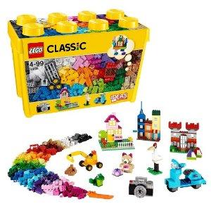$33 / RMB223.3 直邮中美LEGO乐高 基础系列创意拼砌桶儿童积木玩具10698