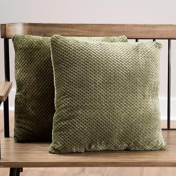 装饰枕2个