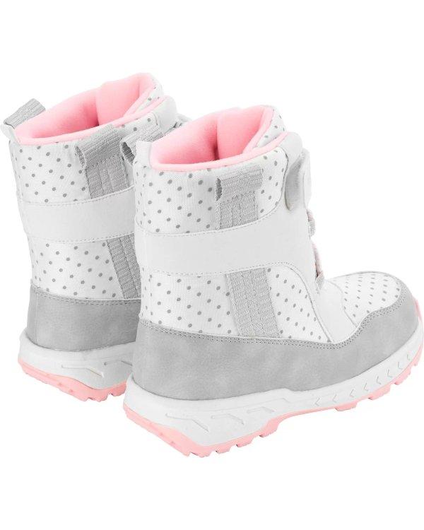 儿童独角兽保暖靴