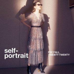 6.5折!£169就收连衣裙Self-Portrait 仙女裙限时闪促超值价 小仙女气质upup