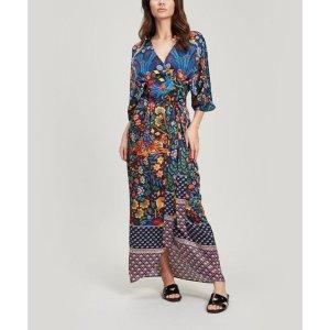 Liberty London丝质设计感连衣裙