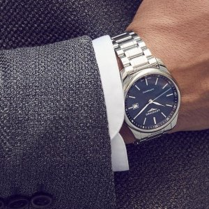 Extra $50 OffDealmoon Exclusive: LONGINES Master Collection Automatic Men's Watch L2.893.4.92.6