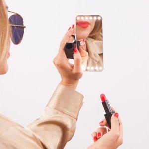 低至6折 收Goss大叔同款GLAMCOR 专业美妆镜热卖 你和美妆博主的距离就差它了