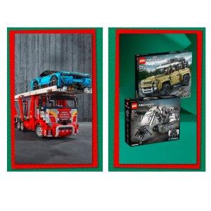 全场低至5.5折Myer 乐高科技系列专场来袭 圣诞礼物就选它