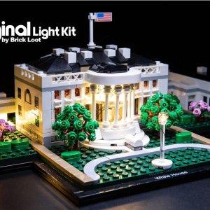 $129.99(官网$149.99)LEGO乐高 Architecture 白宫2020新版 21054