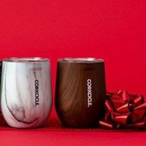 $38收全新款Corkcicle 网红保温杯 收精致木纹、大理石纹