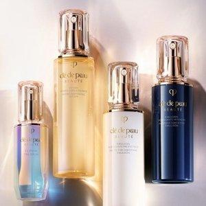 最高立减$550 变相7.25折独家:Cle de Peau 美妆护肤品热卖 收超值套装、水磨精华