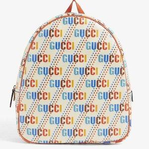 封面小书包£695 渔夫帽£150上新:Gucci 超可爱大童包包配饰又上新啦 不到正价一半买大牌