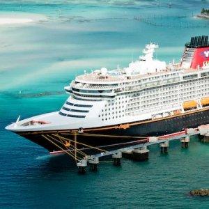 $624起 探访拿骚、迪士尼私家小岛迪士尼邮轮3晚巴哈马行程 9月6日尾单  奥兰多往返