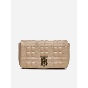 BurberryMini Lola quilted leather bumbag